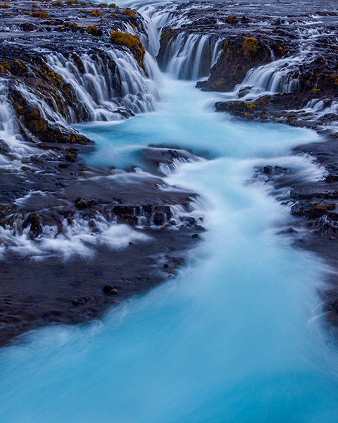 Glacial Flow - Bruararfoss waterfall, Iceland