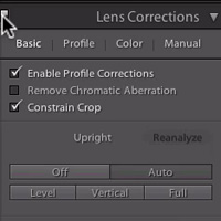 Lightroom 5 Features: Using the Upright Tool