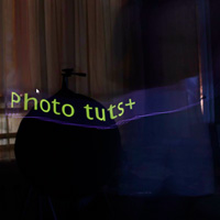 Light Painting Text and Images with a Tablet or Smartphone