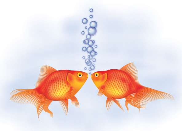 Link toHow to create a detailed goldfish couple with adobe illustrator