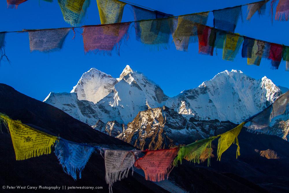 Thamserku and Kantega, Nepal