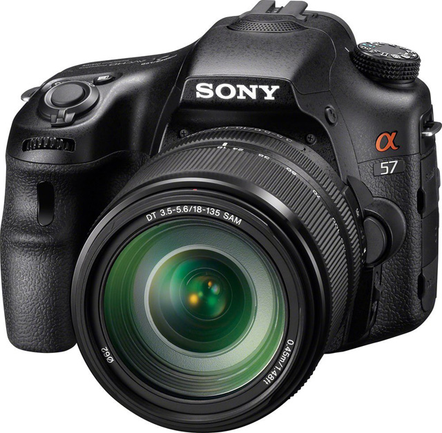 The Sony A57 offers many features only found in much more expensive models from other brands