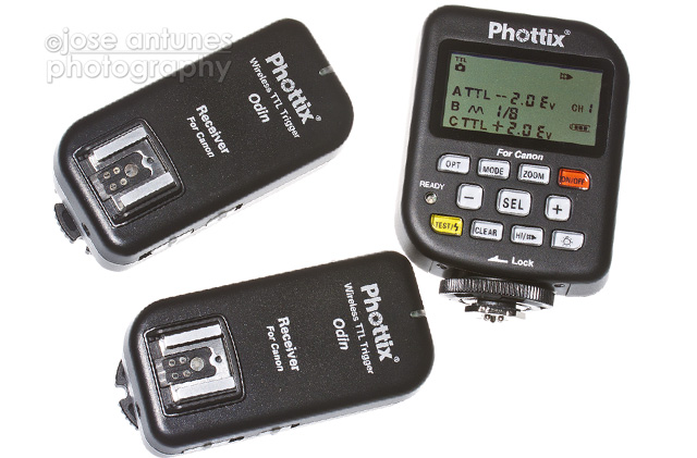 The Phottix Odin radio flash trigger offer TTL functions and advanced functions for photographers