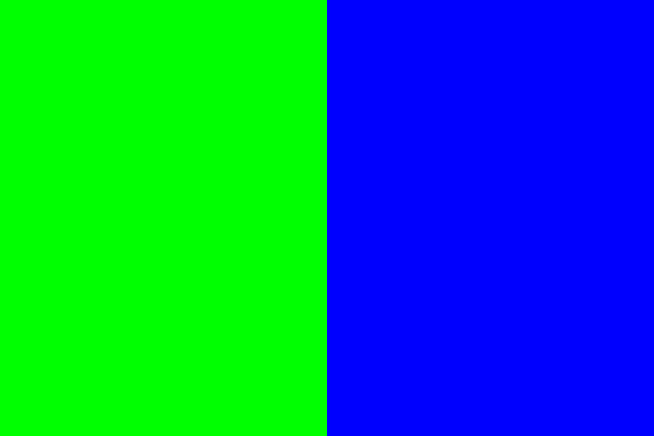 Perfect chroma green and blue aren't reproducible in such saturation outside of a monitor... Maybe all green screens should be LCD displays?