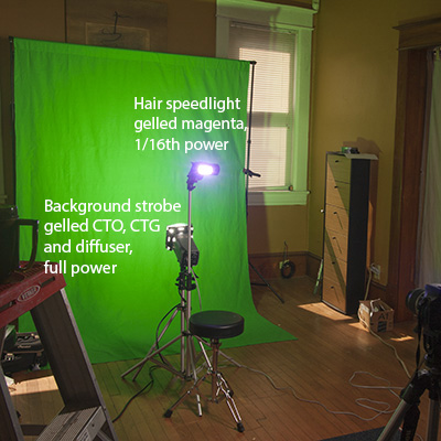 Greenscreen preview retina