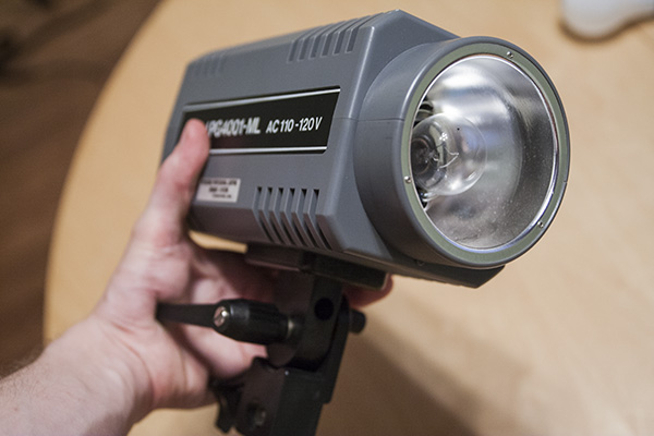 These things aren't huge, like film lights. They're not going in your back pocket either, though there are smaller ones than this available.