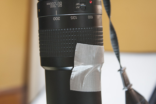 Always keep a roll in the studio!